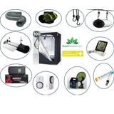 Kit Completo Indoor 100x100 600w Extractor Filtro Garantia