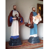 San José Obrero. Imagen Estatua Religiosa. Arte Sacro.