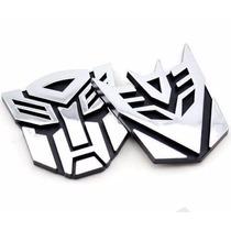 Logo 3d Transformers Autobots Y Decepticons!!