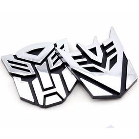 Logo 3d Transformers Autobots & Decepticons!!