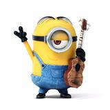 Minions Stuart Guitarrista Original + Regalo + Envío Gratis