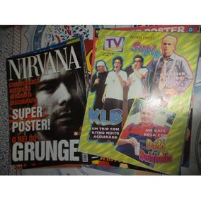 Lote 10 Revistas Poster Simple Plan Metallica Avril Lavigne