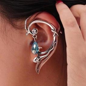Lindo Brinco Ear Cuff Élfico Elfo Gótico Rock Vintage 1 Peça