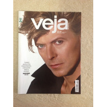 Revista Veja David Bowie Messi Donald Trump Ano 2016 Capa 7