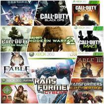 Midia Digital Pacote Com Varios Jogos Originais Do Xbox 360