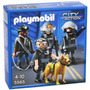 Playmobil City Action Policia Con Perro Art 5565