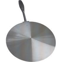 Pa Pegador Para Pizza Em Aluminio - Com Cabo Em Alumínio