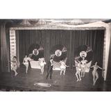Lote De 5 Fotos Teatro De Revista Vedettes