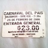 Entrada Gualeguaychú Carnaval Del Pais Entre Rios 2006 Rfan