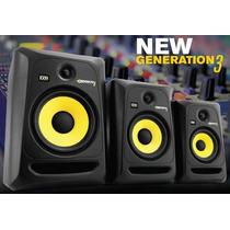 Monitor Ativo Krk Rokit Rp5 G3 - Par/novo 110v E 220v P+e
