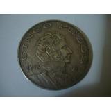 Km67 Moneda 5 Pesos Estados Unido Mexicano 1973 De Coleccion