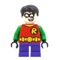 Genial Minifigura Robin Mighty Mini Q Compatible Con Lego