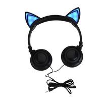 Fone Orelha De Gato - Led / Microfone - Pronta Entrega