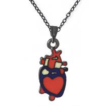 Collar Corazón Anatómico Medicina Médico Enfermera Doctor