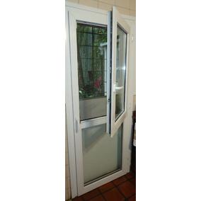 Puerta Ita Pvc Blc. Con Hoja Oscilobatiente Sup. 0.80x2.00