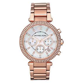 5afb3a83467 Relogio Feminino Mk Rose Gold - Relógios De Pulso no Mercado Livre ...