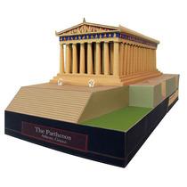 Maquete De Papel 3d - Parthenon - Grécia