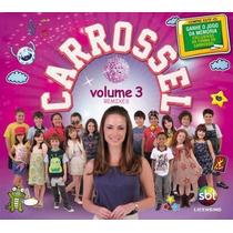 Carrossel Novela Sbt Volume 3 Remixes Cd Digipack Lacrado