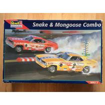 Auto Modelismo Revell Monogram Snake And Mongoose Nuevo .