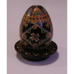 Huevo De Pascua Pintado A Mano Adorno Tipo Fabergé - Danlev