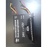Convertidor De Voltaje De 24 A 12 Voltios. 40 Amperios.