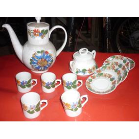 Antiguidade Louça Novo Estoque Antigo Jogo De Chá Schmidt