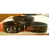 Pulseras De Silicona Tokio Hotel Importadas