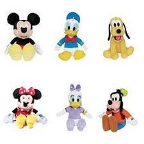 Pelúcias Disney Mickey,minnie Rosa-vermelha,pluto,pato Donal