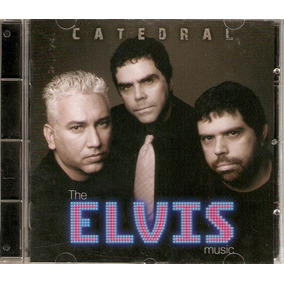 Cd Catedral - The Elvis Music - Novo***