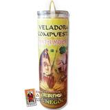 Veladora Santa Muerte - Fortuna En El Negocio , Abre Caminos