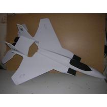 F15 Eagle Kit De Aeromodelo Elétrico Em Deprom