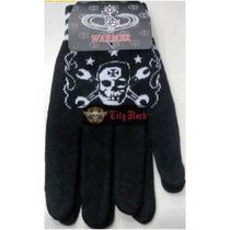 Luvas Rock Fashion Unissex Skull Design