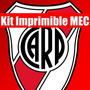 Kit Imprimible River Plate Tarjeta Invitacion Candy 2015 2x1