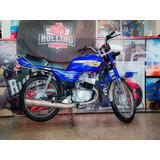 Suzuki Ax 100 Azul 938km Igual A 0km Ahora12 Hot Sale