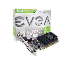 Placa De Video Nvidia Geforce Gt610 1gb Ddr3 Hdmi C/ Cooler