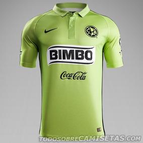 Jersey Nike Del Aguilas Del America Visitante Verde