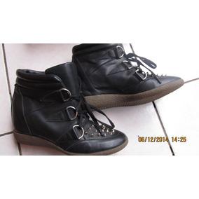 Americanino Botas Zapatillas Plataforma, 100% Cuero Nº 37