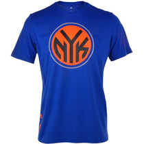 Playera Basquebol Nba New York Knicks Hombre Adidas S29939