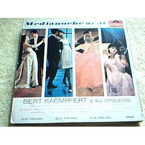Disco Lp Bert Kaempfert Y Su Orquesta - Medianoche Azul -