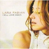 Cd Single Lara Fabian - I Will Love Again 3 Tracks Importado
