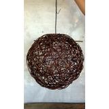 Lampara/esfera De Mimbre Llegar E Instalar 40 Cm