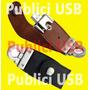 Usb Publicitario Cuero 8gb, Merchandising, Cuerina Empresa