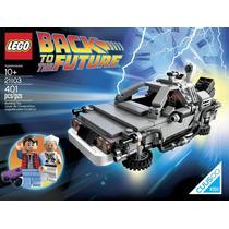 Lego Minecraft Volver Al Futuro Delorean Modelo 21103