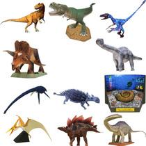 Maquetes De Papel - 11 Modelos - Dinossauros Em 3 Dimensões