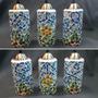 Lampara Colgante 3 Luces Mosaico
