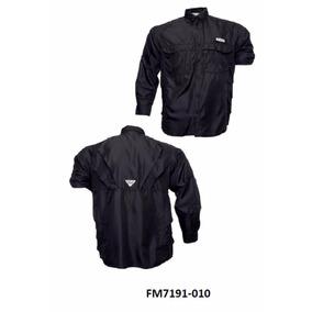 Camisas Columbia Unicolor Manga Larga Calidad Importadas