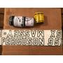 Jogo Decalque Adesivo De Lataria Trator Massey Ferguson 95x