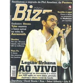 Revista Bizz 189-legião Urbana Ao Vivo,renato Russo,kiss