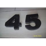 Numero En Hormigón Para Puerta De Casas, Artesania Color, 3d