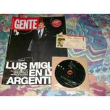 Luis Miguel Entrada Revista Y Cd Single Lote Coleccion Vdg